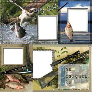Рамка для фото охота и рыбалка
