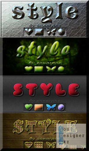 Множество разнообразных стилей / Set of the varied styles - №12