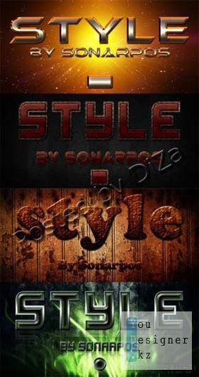 Множество разнообразных стилей / Set of the varied styles