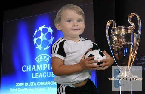 Шаблон для фотошопа:Лига чемпионов.