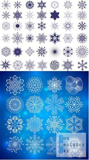 Snowflakes collection 2