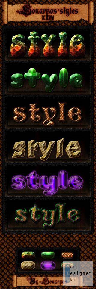 Стили / Sonarpos styles 24