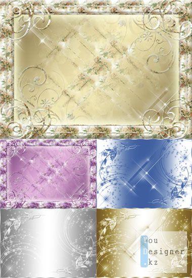 Брызги звезд (Star Spray Tissue HQ clipart) - клипарт высокого разрешения