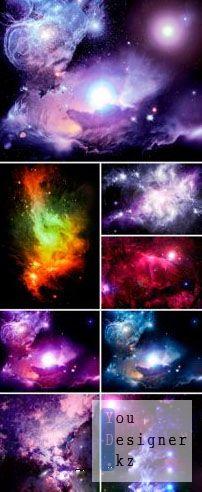 Stock Photo - Fantasy Space Nebula