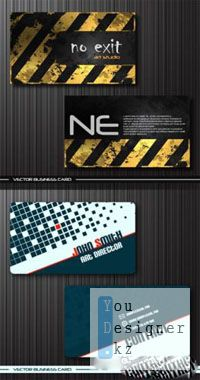 Creative Business Cards Stock Vectors