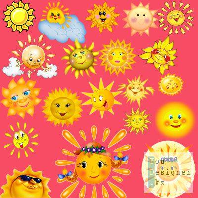 Скрап набор: Солнышки / Scrap kit - Suns