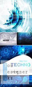 Techno Backgrounds Vector 2 | Техно фоны в векторе