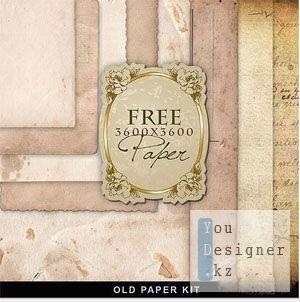 Текстуры – Старая бумага / Old Paper textures