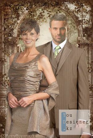 Template for Photoshop - A beautiful couple / Шаблон для Photoshop - красивая пара