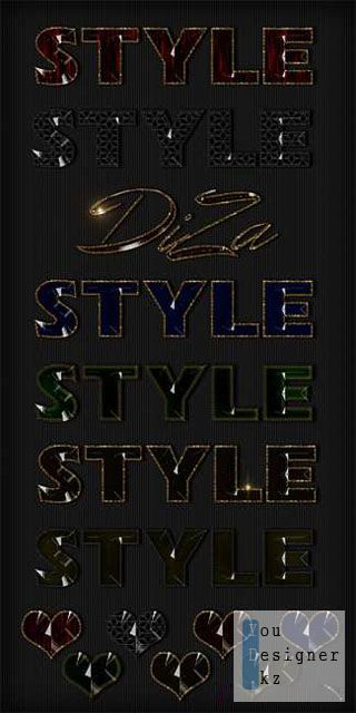 Текстовые стили / Text styles by DiZa - 14