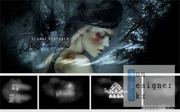 Текстуры - Темный лес / Textures dark forest