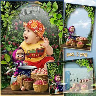 Детская рамка для фото - День Варенья