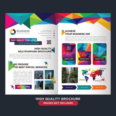 Professional brochure for multipurpose business