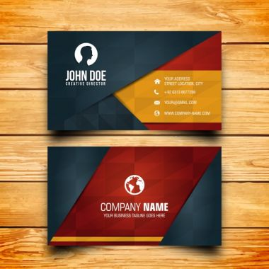 Vector Business card design