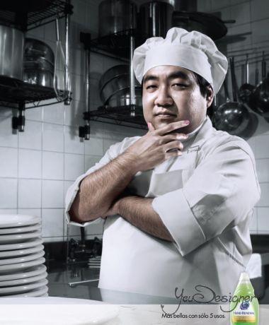 Реклама средства для мытья посуды Dawn PLUS