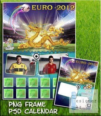 Calendar - Soccer Euro-2012