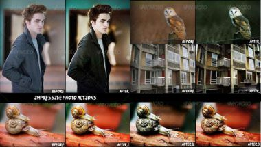 Impressive Photo Actions for Photoshop