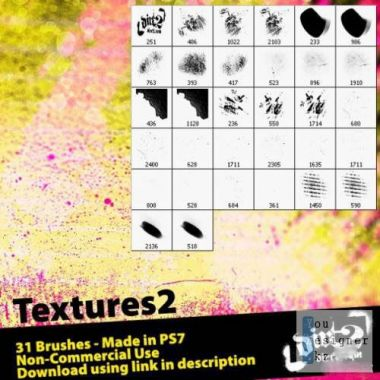 Кисти для текстурирования / Brushes for texturing