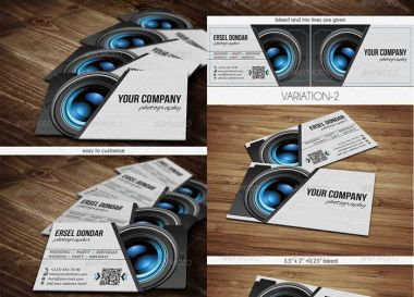 PSD - Photographer Business Card v2