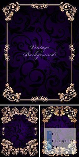Vintage backgrounds in the form framework