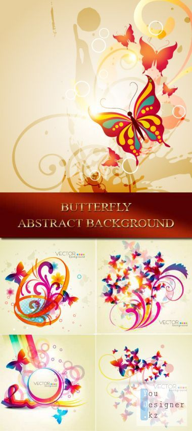 Abstract background - Butterfly