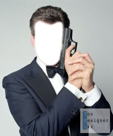Male pattern - Agent 007 James Bond