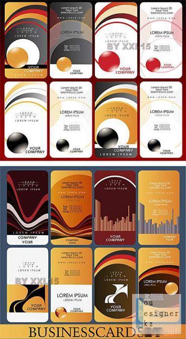 Шаблоны бизнес карт (визиток) / Business cards 10