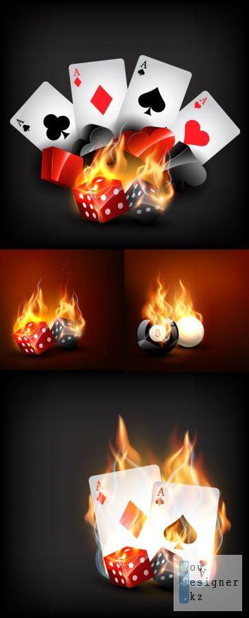 Vector background - Casino