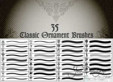 Classic Ornaments Brushes