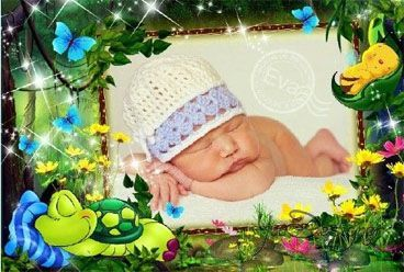 Children's photo-frame - Sleep baby