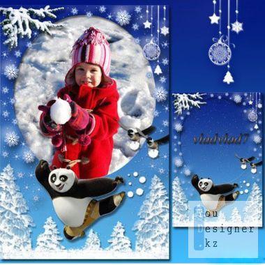 detskaya-ramka-kung-fu-panda-snezhnye-zabavy.jpg (70.03 Kb)