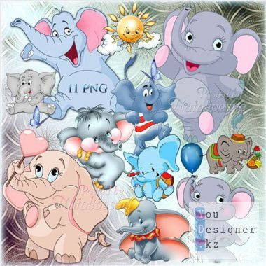 Baby clipart - Funny cubs, funny, naughty...