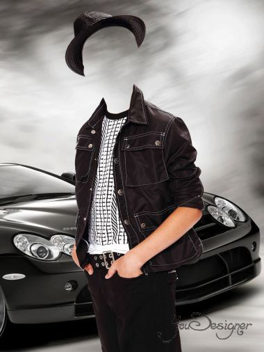Children's template for photoshop - Clothes for teenager