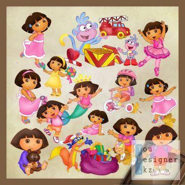 Clipart  - Dora the explorer