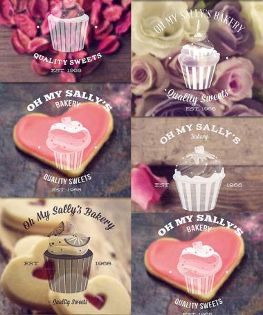 Кисти для фотошоп - Кексы / Brushes for photoshop - Cupcakes