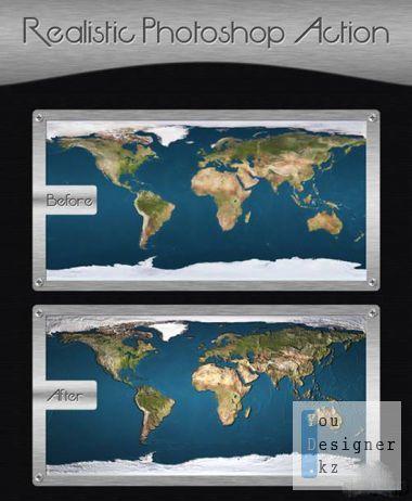 Реалистичные макросы для фотошоп / Realistic actions for Photoshop