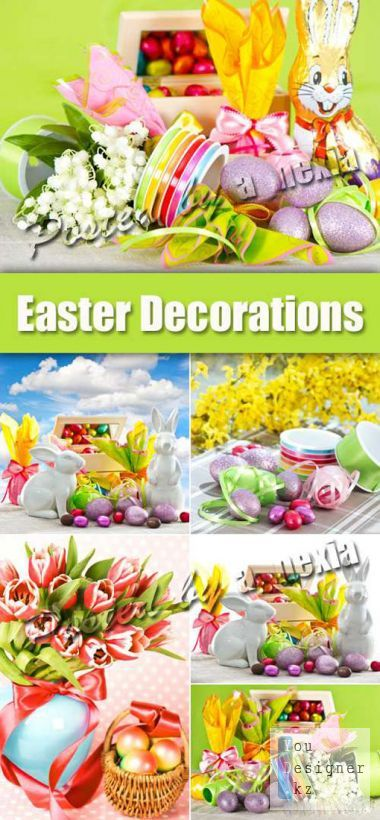 Stock Photo - Easter Decorations