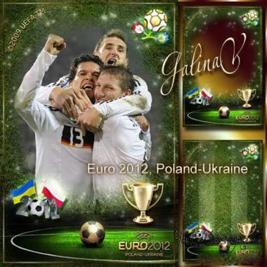 The masculine frame - Euro 2012 Poland-Ukraine