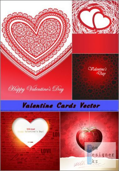 Vector Backgrounds With Love from the heart