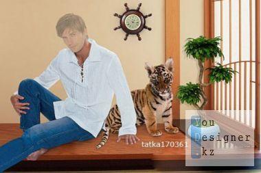 fotoshablon-paren-s-tigrenkom.jpg (36 Kb)