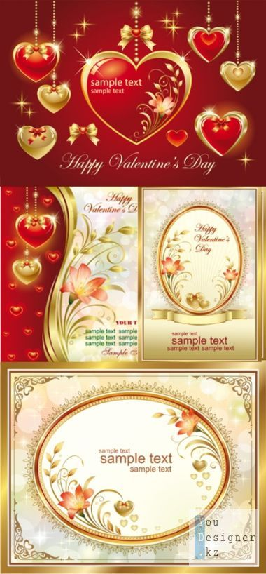 Hearts & romantic cards