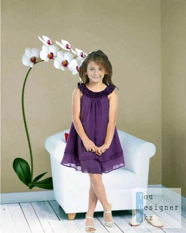 Kids psd templates - As a model