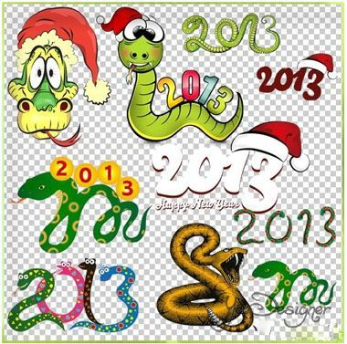 Clipart - Snakes and inscriptions part 2