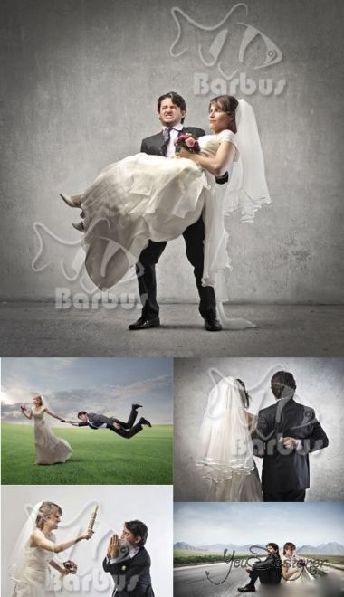 Creative newlyweds