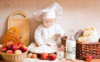 Photomontage - a little chef