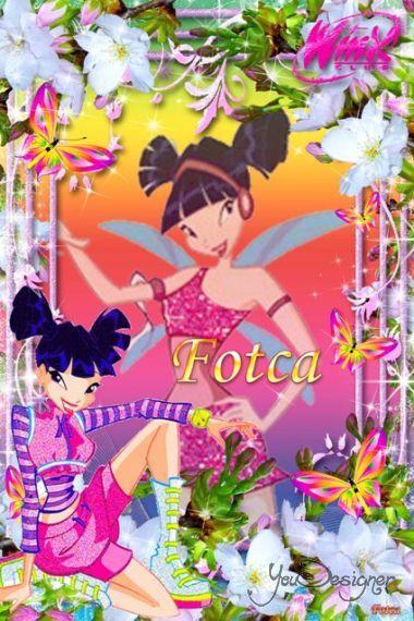 Children's frame for the photo - Winx club (Fairy Muza)