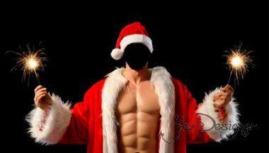 Male-pattern - sexy Santa