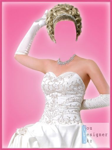 Template for photoshop - Bride!