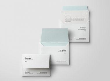 Envelope Letter Psd Mockup