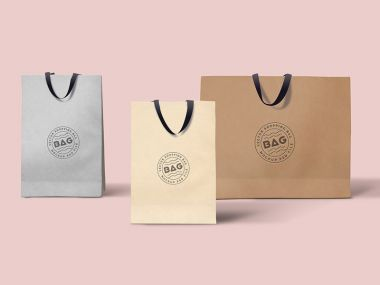 Shopping Bags Mockups